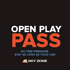Open Play Pass (No Time Limit)