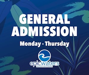 Admission Monday - Thursday