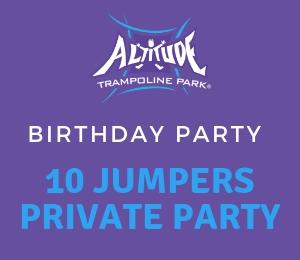 10 Jumper Room Party -No Food