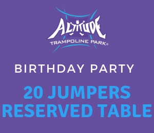 20 Jumper Table Party -No Food
