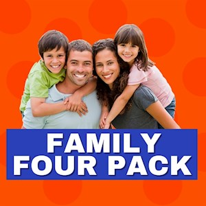 Jump - Family 4 Pack Deal