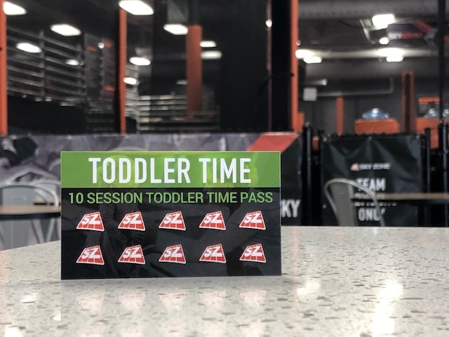 Toddler Time Punch Card