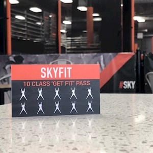 SkyFit Punch Card