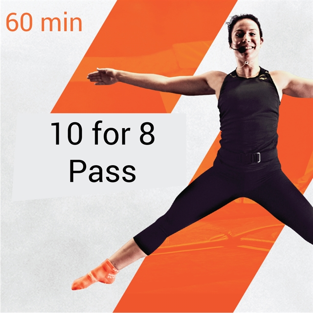 10-for-8 Pass - 60min