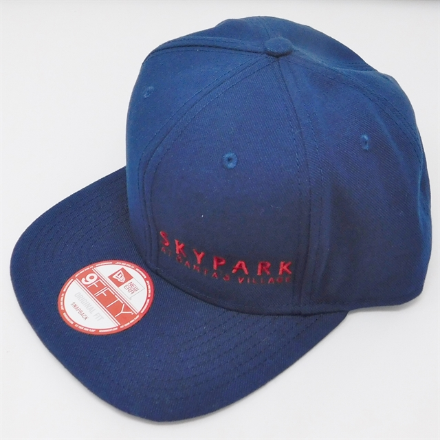 a04bc01f14542 .SkyPark New Era Snapback Hat Navy   Red