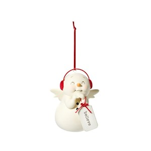 Believe Snowman Ornament