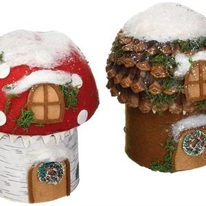 Gnome Cottage Figure