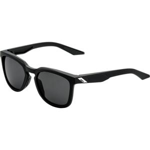 100% Hudson - Black/Smoke Lens