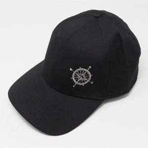 .Compass New Era Hat Black