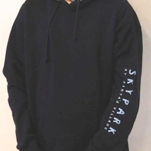 Compass Hooded Sweatshirt Black