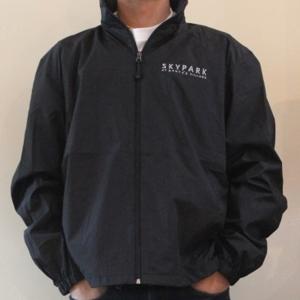 Full Zip Wind Jacket Black