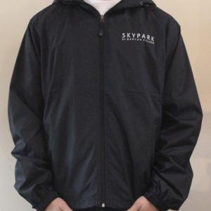 Copy Hooded Wind Jacket Black S