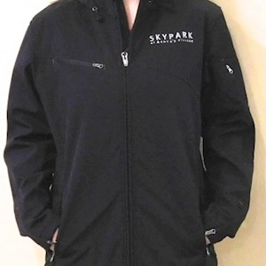 Ladies Softshell Waterproof Jacket Black
