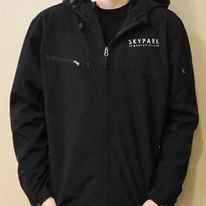 Men's Softshell Waterproof Jacket Black