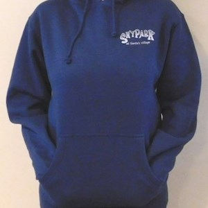 Skypark Bike Hooded Sweatshirt Blue