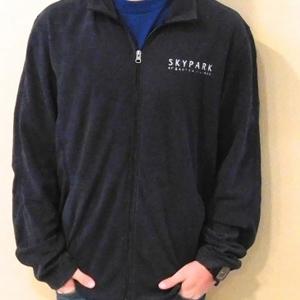 Men's Fleece Jacket Charcoal