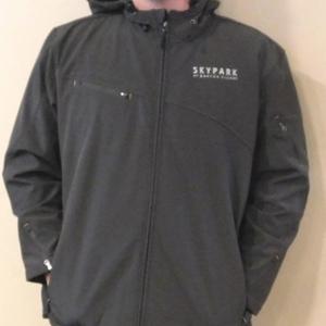Men's Softshell Waterproof Jacket Mineral Green