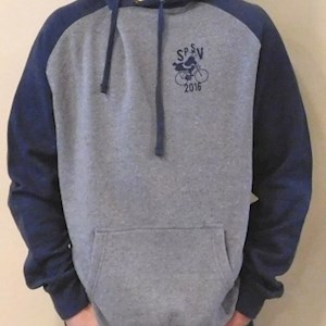 Skypark Hooded Sweatshirt Heather / Navy