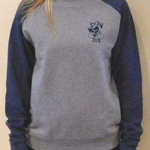 Skypark Crew Sweatshirt Heather / Navy