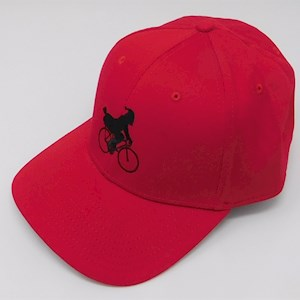 .Bicycle New Era Hat Red