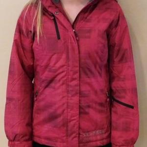 Ladies Winter Jacket Red