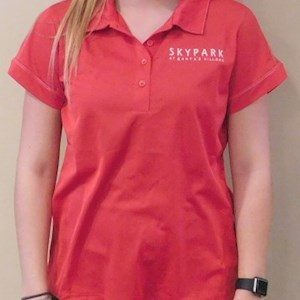 Ladies Polo Shirt Red