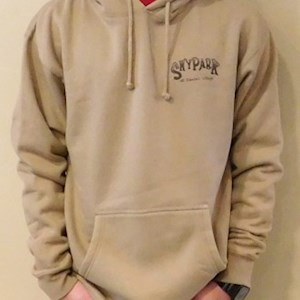 Skypark Bike Hooded Sweatshirt Sand