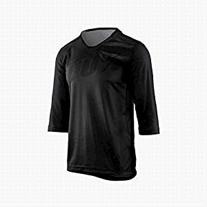 100% Airmatic Jersey 3/4 Black