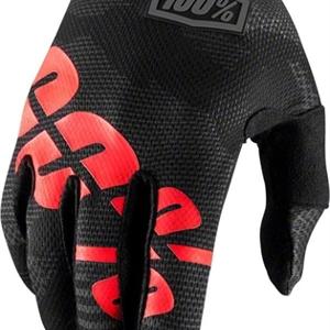 100% Itrack Glove Black/Camo Youth
