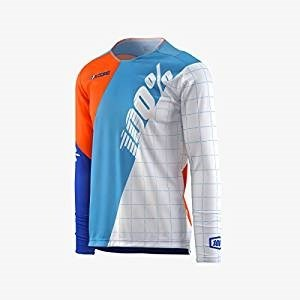 100% RCore DH Youth Jersey White