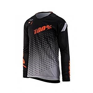 100% RCore DH Youth Jersey Black