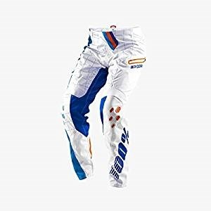 100% RCore DH Youth Pants White