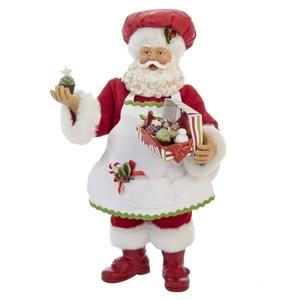 "10"" Cupcake Santa"