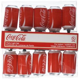 10/L Coca-Cola Can Light Set