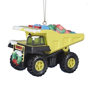 "2.25""Tonka Blow Mold Ornament"