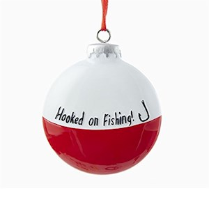 "3"" Resin Fishing Bobber Ornament"