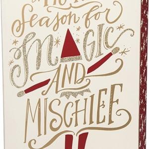 """Box Sign - Magic & Mischief 8"""""""