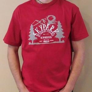 Adventure T Shirt Cardinal L