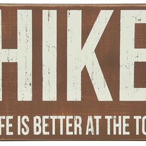 Box Sign - Hike