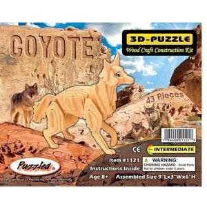 3D Puzzles - Coyote