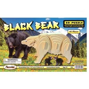 3D Puzzles - Black Bear