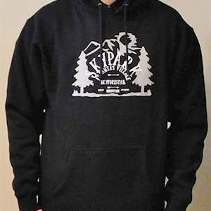 Adventure Hooded Sweatshirt Black L