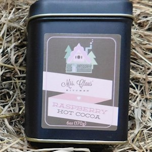 Raspberry Hot Chocolate Tin