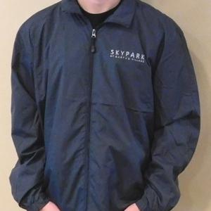 Full Zip Wind Jacket Graphite L