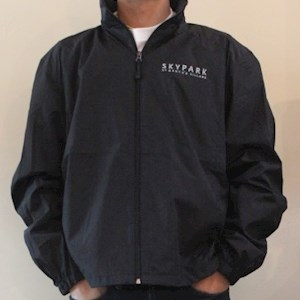 Full Zip Wind Jacket Black XL