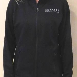 Ladies Fleece Jacket Black XL