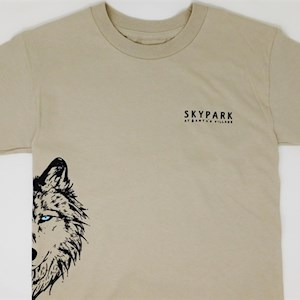 Youth Arrow T Shirt Sand L