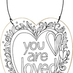 Color Ornament - You Are Loved