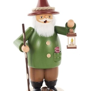 Gnome With Lantern - Smoker -