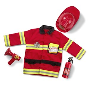 Fire Chief Costume Ages 3-6